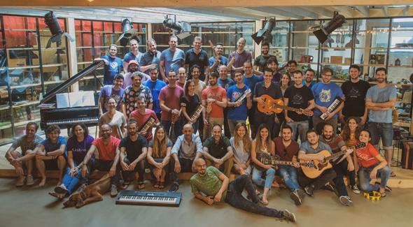 The JoyTunes team. Photo: JoyTunes