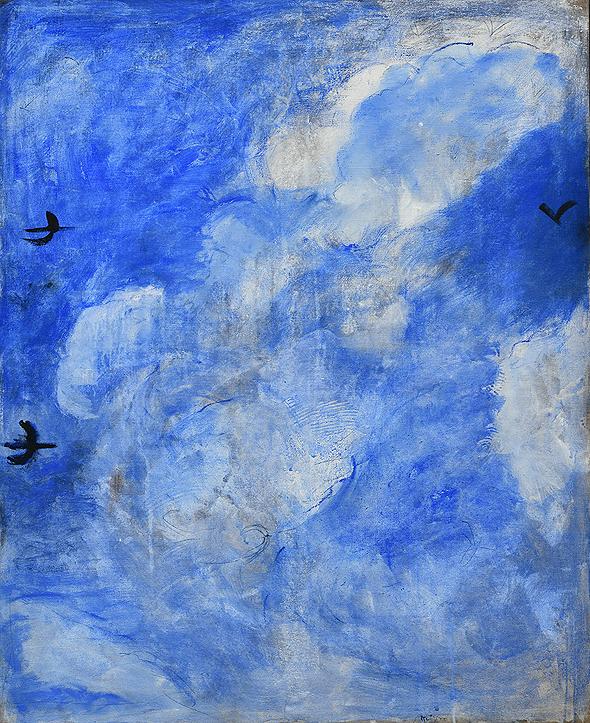 ליליאן קלאפיש בגלריה גורדון. 30 ציורים נמכרו