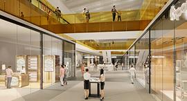 הדמיית קניון כפר יונה מרכז הקניות והתרבות של השרון