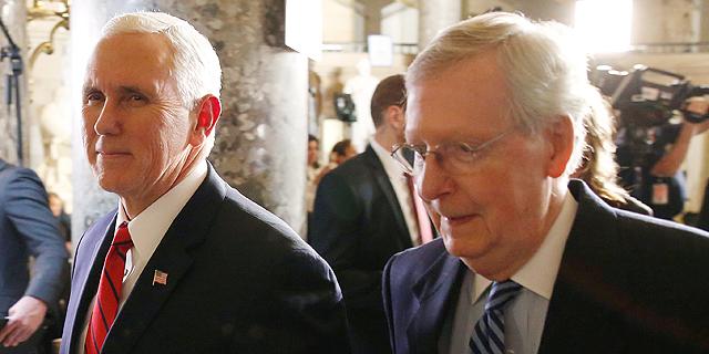 פנס מתנגד להפעלת התיקון ה-25 נגד טראמפ; דיווח: מקונל תומך בהדחה