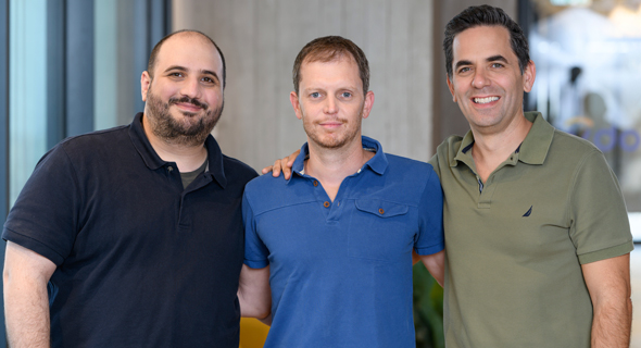 Vdoo co-founders Nati Davidi, Uri Alter and Asaf Karas. Photo: Vdoo