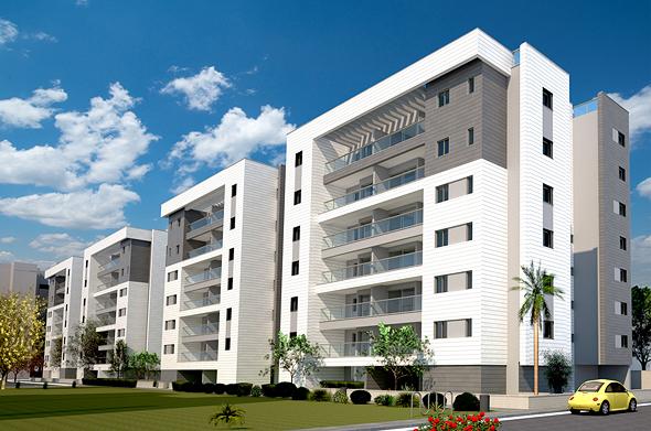 """הפרויקט ברחוב הרצפלד 12-2. """"שינוי יסודי הן בדירות עצמן והן בסביבת המגורים"""""""