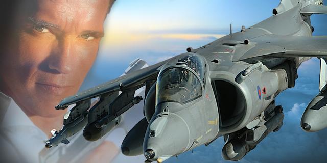 הקברניט הארייר מטוס קרב בריטניה, צילום: RAF,universal