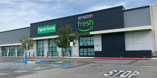 לראשונה: אמזון תפתח סופרמרקט ענק במתחם ביג בקליפורניה