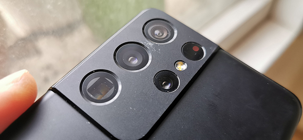 מצלמת גלקסי S21 אולטרה