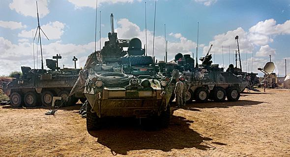 A Stryker APV Photo: U.S. Army