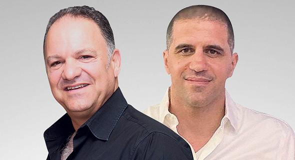 """מימין: המנכ""""ל החדש עמיר אהרון ומייסד מחלבות גד עזרא כהן. דגש על ניסיון בתפעול וייצור"""