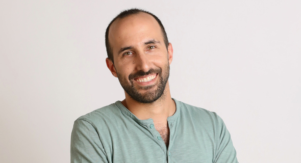 Yoni Tserruya is the Co-founder and CEO of Lusha. Photo: Geva Talmor