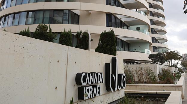 פרויקט בלו BLUE סי אנד דאן תל אביב של חברת קנדה ישראל, צילום: יריב כץ