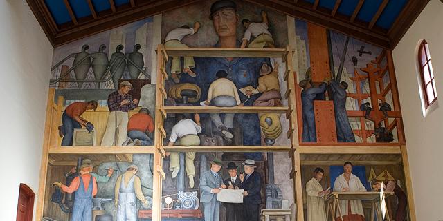 נדחקו אל הקיר: מה ייעשה בציור של דייגו ריברה