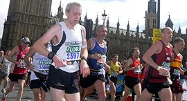 מרתון לונדון, צילום: בלומברג