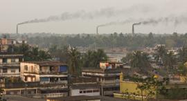 זיהום אוויר בנגלדש העיר KHULNA, צילום: שאטרסטוק
