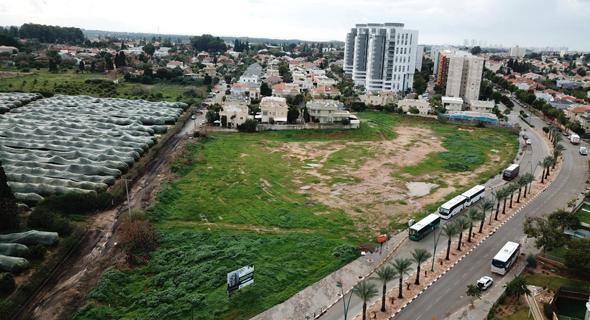 מתחם 17 בחדרה. חלק מהמגרשים יהיו בצפיפות של 5־6 יחידות דיור לדונם, צמודי קרקע דו־משפחתיים
