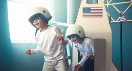 ילדים, חלל ואסטרונאוטים , צילום: שאטרסטוק