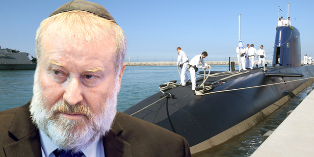 יועץ משפטי אביחי מנדלבליט פרשת צוללות, צילום: יאיר שגיא , אלעד גרשגורן