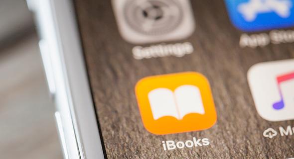 אפליקציית iBook אפל ספרים דיגיטליים, צילום: שאטרסטוק