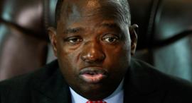 סיבוסיסו מויו שר החוץ המנוח של זימבבואה, צילום: רויטרס