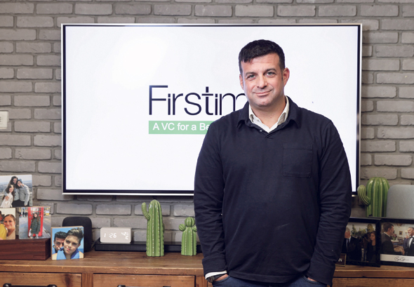 Firstime founding partner Jonathan Benartzi. Photo: Orel Cohen