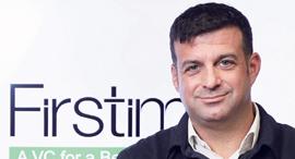 יונתן בן ארצי שותף ומייסד קרן Firstime, צילום: אוראל כהן