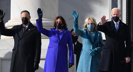 "השבעה ג'ו ביידן קמלה האריס ארה""ב 2, צילום: איי אף פי"
