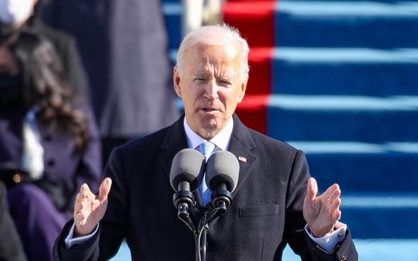 ביידן בנאום ההשבעה