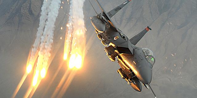הקברניט מלחמת המפרץ מטוס קרב, צילום: USAF