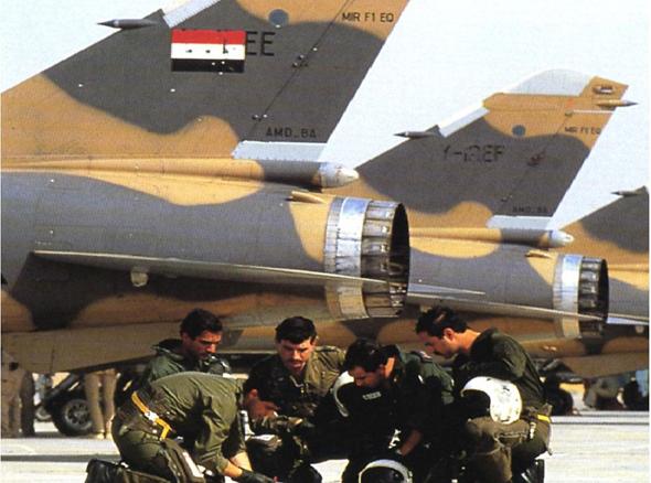מנוסים ומיומנים. טייסי עיראק, מול מטוסי מיראז' F1