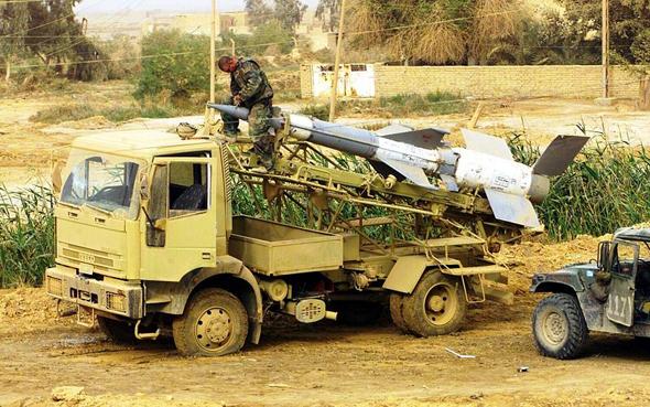 """נכס חיוני. טיל נ""""מ על משאית"""