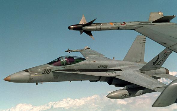מטרה לא אטרקטיבית. F18
