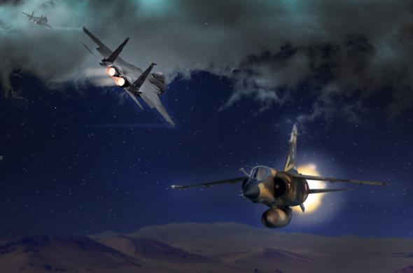 קרב בלתי צפוי. מיראז' ו-F15