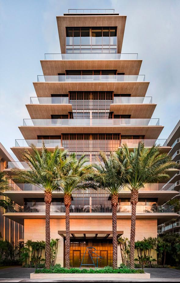 מגדל Arte Surfside איוונקה וג'ראד קושנר שכרו מיאמי, צילום: Arte Surfside