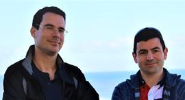 מימין מיכאל מומצ׳וגלו ו יאיר מנור CardinalOps, צילום: אפרת מנור
