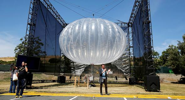 גוגל פרויקט הבלונים, צילום: רויטרס