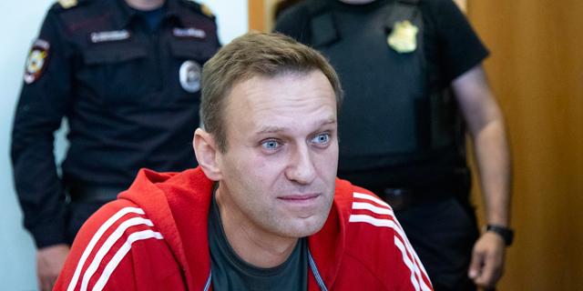 נבלני לפני משפטו, צילום: איי פי