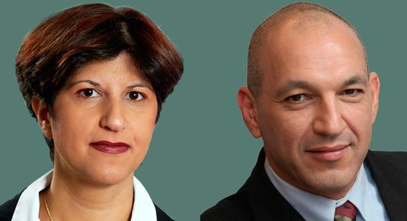מימין: עורכי הדין רענן בר-און וורד כהן