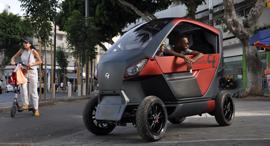 """הרכב העירוני של סיטי טרנספורמר, צילום: City Transformer יח""""צ"""