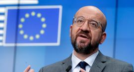 נשיא המועצה האירופית, צ'רלס מישל, צילום: איי פי