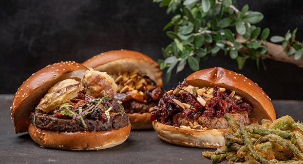 המבורגרים צמחוניים של אגאדיר , צילום: איתן ווכסמן