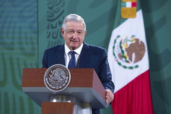 נשיא מקסיקו אנדרס מנואל לופז אוברדור