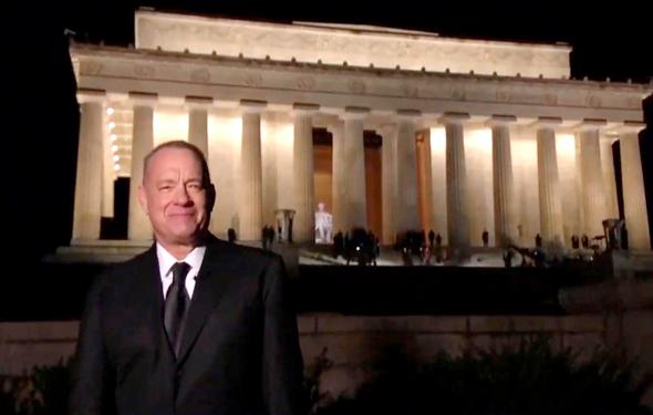 טום הנקס מנחה בשבוע שעבר את מופע הבידור ביום ההשבעה של הנשיא ג'ו ביידן מהאנדרטה לזכר לינקולן. כשמדברים על אמריקה כרגע, הנקס הוא המלאך הטוב שניצב מול דונלד טראמפ, המלאך הרע