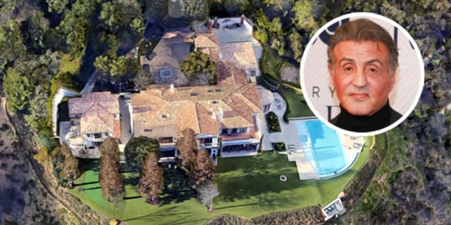 להרגיש רוקי: האחוזה של סילבסטר סטאלון בלוס אנג'לס מוצעת למכירה תמורת 130 מיליון דולר