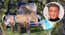אחוזה למכירה סילווסטר סטאלון בוורלי הילס לוס אנג'לס , צילום: google