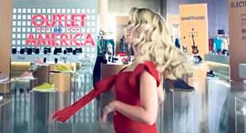 שירי מיימון בקמפיין לאמריקן אאוטלט עם שופרסל, צילום: youtube