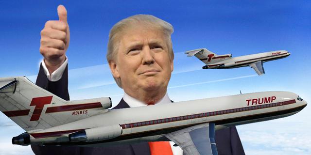 חברת התעופה של טראמפ. לפני יותר מ-30 שנה, צילום: cleanpng, xplane, join
