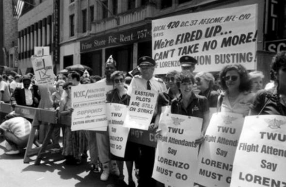 מחאות עובדים נגד איסטרן, צילום: corporatecampaign