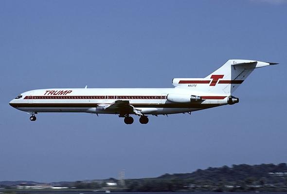 מטוס טראמפ שאטל באוויר, צילום: airliners