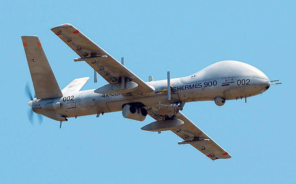 Elbit System's Hermes 900. Photo: Elbit Systems