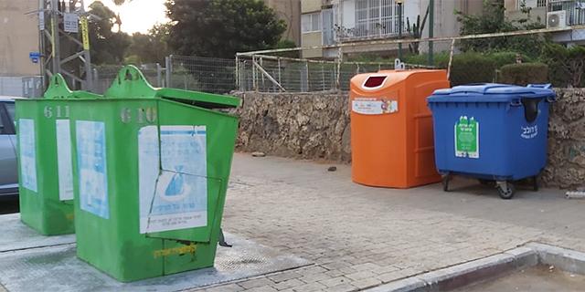 התוכנית של המשרד להגנת הסביבה: 3 פחי מיחזור בכל בית