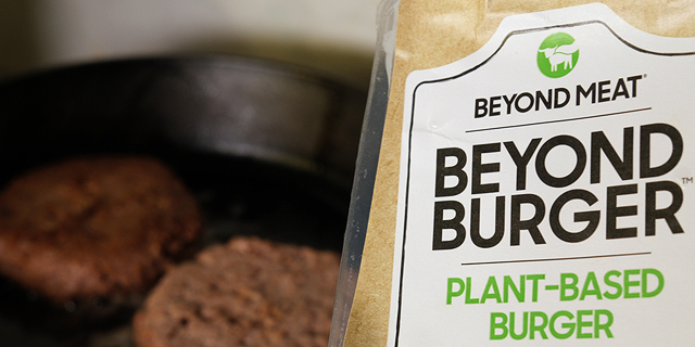 ביונד מיט חוברת לפפסיקו במיזם לייצור משקאות וחטיפים צמחיים