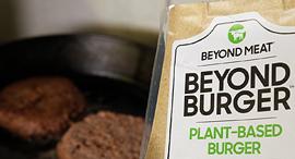 תחליף בשר ביונד מיט beyond meat, צילום: רויטרס